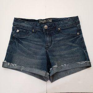 Denim Distressed Jeans Shorts Size 2